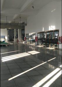 メッキ工場の内部